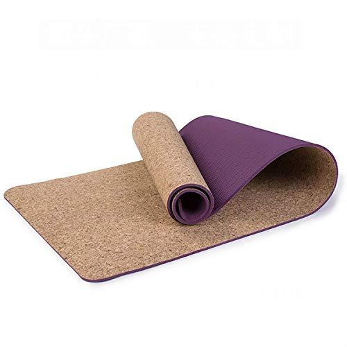 aoligei tpe kurk yoga mat ecologisch geurloos verdikking oefenmat verbreding en verlenging 6MM fitnessmat dans oefenmat