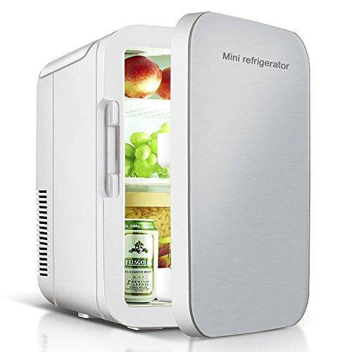 VOKUA 冷温庫 ミニ冷蔵庫 10L 小型でポータブル 家庭 車載両用 保温 保冷 2電源式 便利な携帯式 コンパクト...