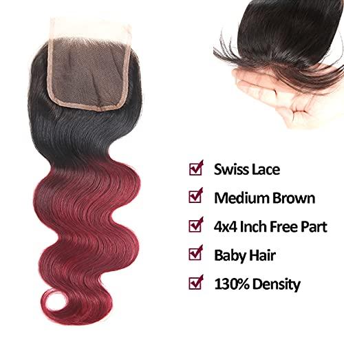 Burgundy brazilian hair _image1