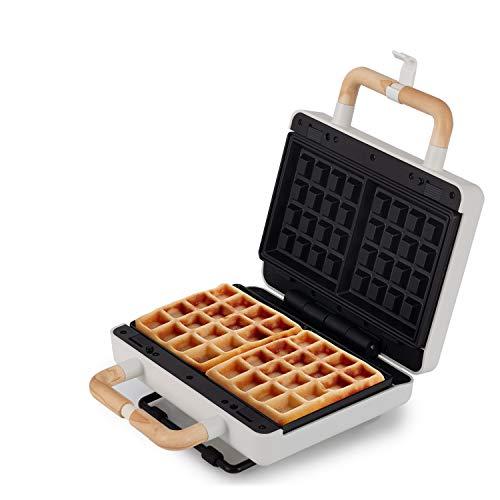 IKOHS STONE 3-WAY - Sandwich- und Waffeleisen mit austauschbaren Platten