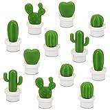 Lindos imanes de nevera, imanes de nevera de cactus para gabinetes de oficina, pizarras blancas, fotos