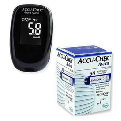 Accu-Chek Aviva Nano Medidor de glucosa...