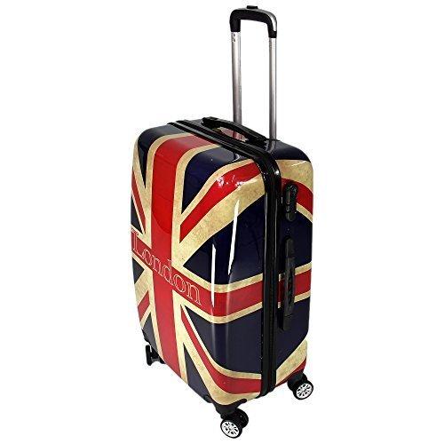 Koffer London Hartschalenkoffer Reisekoffer Trolley Groesse L 24