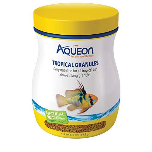 Aqueon Tropical Granules Fish Food, 6-1/2-Ounce