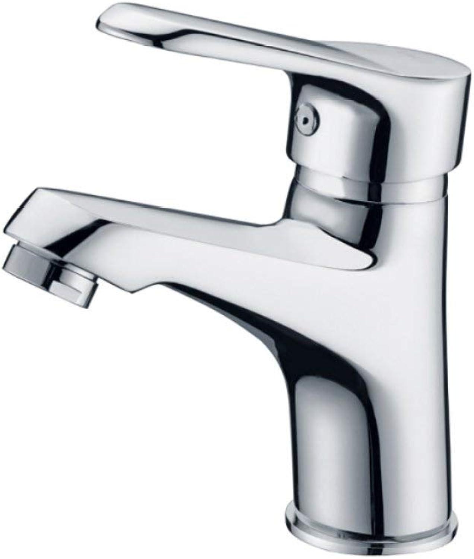 GONGFF Waschbecken Wasserhhne Wasserhahn Waschbecken Wasserhahn Kupfer heien und kalten Wasserhahn Waschbecken Wasserhahn Küchenarmatur Bad Anzug Mischbatterie