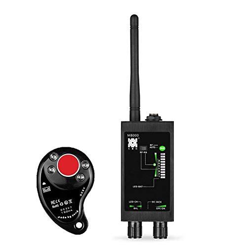 ZDSKSH Rilevatore di Segnale RF, Rilevatore di Microspie, Alta sensibilità del Dispositivo Professionale di rilevamento delle Radio