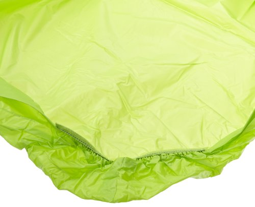 "Kwik-Cover 3072PK-Lime Green 30"" X 72"" Kwik-Cover Lime Green Fitted Table Cover (1 full case of 50)"