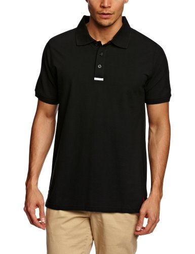 MUSTO - Polo - Homme - Noir (Black) - FR: Large (Taille fabricant: Large)
