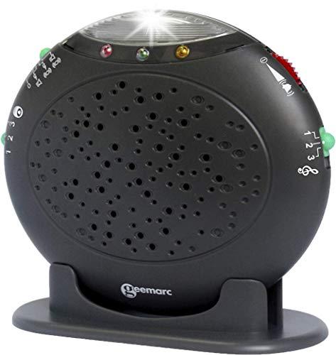 Geemarc 3521350005585 Optische & akustische Warnanlage für Festnetztelefone Amplicall 10