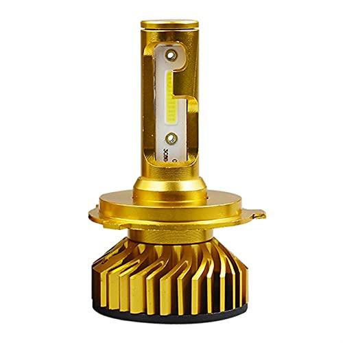 ScottDecor Oscaro Auto Parte Bombillas para Faros 12000lm Auto 9005 HB3 9006 HB4 SMD 12V H1 LED H7 H4 H1 H8 H8 Chip Automóvil Faro Tesla Encendedor (Socket Type : H9)