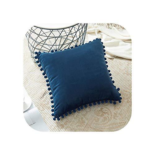 My cat - Funda de almohada de terciopelo suave para sofá, cama, funda de cojín de 60 cm x 60 cm