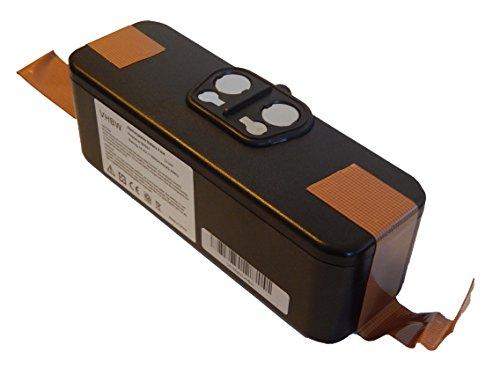 vhbw Batería Li-Ion 3000mAh (14.4V) para aspiradoras, robot aspirador Klarstein Cleanmate, Robotic U290 reemplaza 11702, GD-Roomba-500, VAC-500NMH-33.