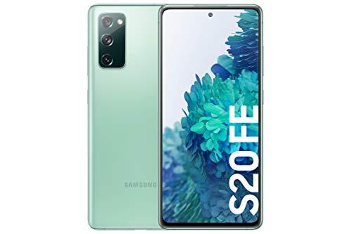 Samsung Galaxy S20 FE Cloud Mint SM-G780FZGDEUB Dual-SIM 128GB Android 10.0 Smartphone, grün