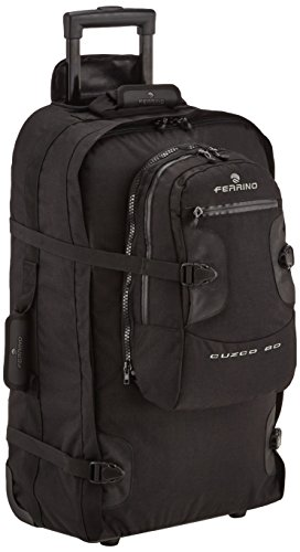 Ferrino Cuzco koffer met rugzak / reistas, 80 l, zwart