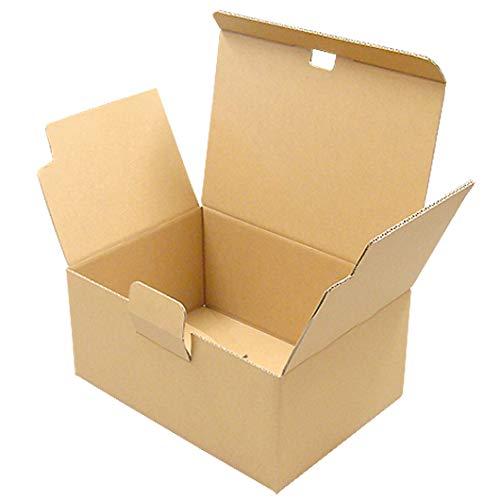 ワンタッチダンボール[宅配60] クラフト 60サイズ (厚さ3mm)◇40枚セット(ダンボール箱 段ボール箱 小)
