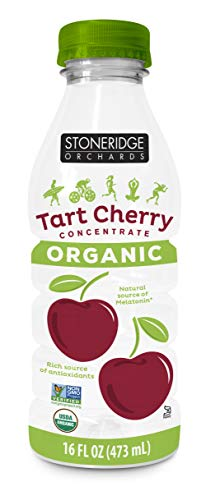 Stoneridge Orchards Organic Tart Cherry Concentrate - 16 ounce - Montmorency Cherries