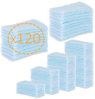 120 ESPONJAS Jabonosas Desechables