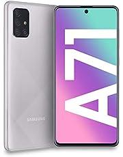 Samsung Galaxy A71 Smartphone, Metallic Silver