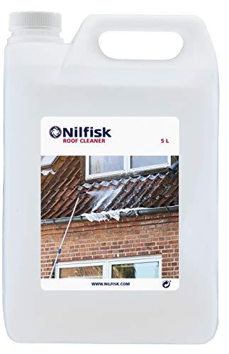 Nilfisk 125300389, Universalreinigungsmittel für Hochdruckreiniger 5 Liter Dachreinigungsmittel, Farblos
