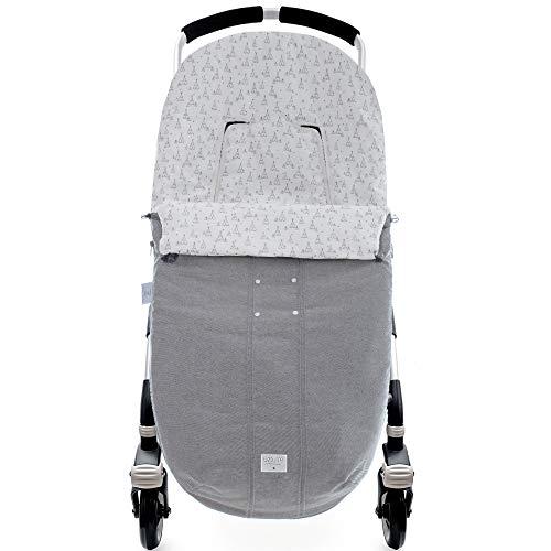 Saco de silla Lino Tippy gris de Uzturre