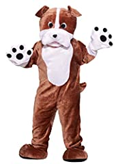 Deluxe plush mascot costume includes head with see through eye mesh, jumpsuit with attached mittens and foot covers Using a mascot to promote your business, team or event is a smart and innovative way to get noticed Professional quality mascot costum...