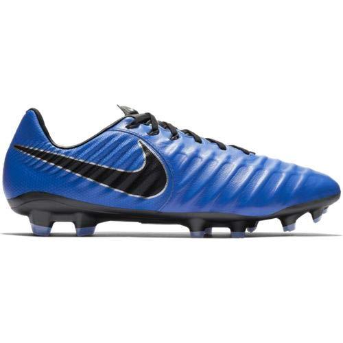 Nike Men's Football Boots , Multicolour Racer Blue Black Metallic Silver 4 , 9.5 US