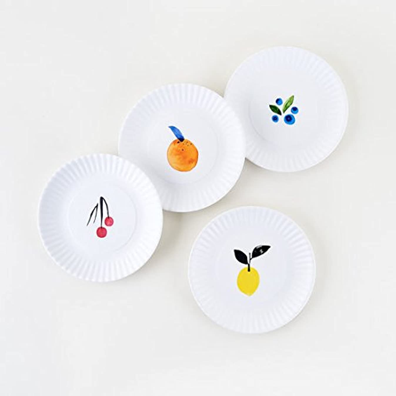 Fruit Plates Designed by Misha Zadeh - 7.5 inch Melamine