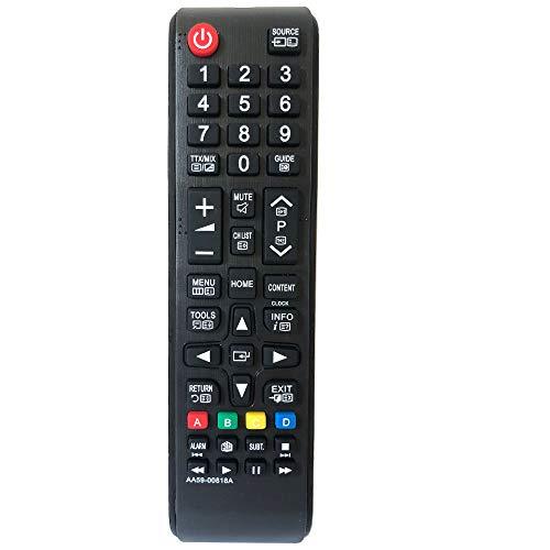 FYCJI Nuovo sostituzione telecomando Samsung AA59-00818A per Samsung smart TV- Nessuna configurazione richiesta telecomando tv samsung telecomando universale tv