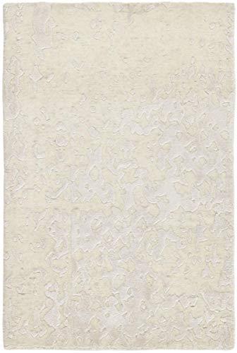 Nain Trading Mila 89x61 Orientteppich Teppich Beige Handgeknüpft Indien Design Teppich Modern
