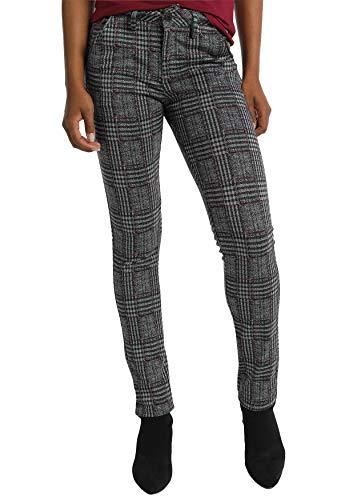 LOIS JEANS|Pantalones de Nueva Colección Otoño Invierno | de algodón |Moda Casual para Mujer para ti o para Regalar | Regular fit | en Color Negro | Tallaje en Pulgadas | Talla-Inch 28|117060
