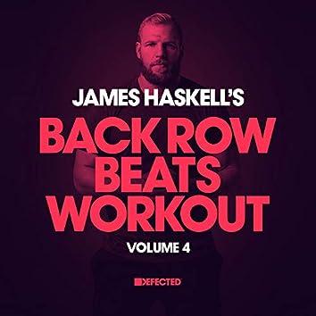 James Haskell's Back Row Beats Workout,  Vol. 4 (DJ Mix)