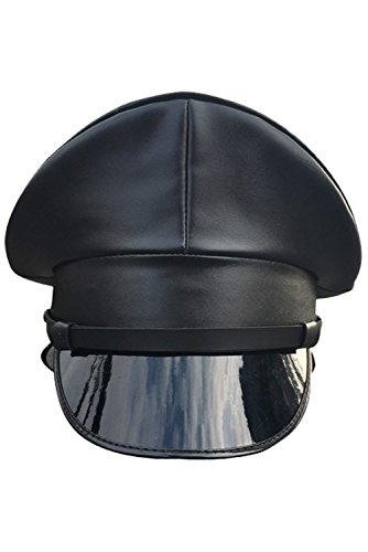Joyplay Gorra de Oficial de Policia Militar Enarbolada para Hombres Sombrero Que Lleva del Club de...