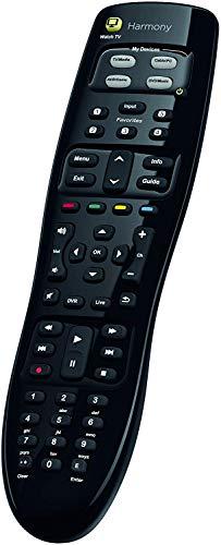 Logitech Harmony 350 Telecomando Universale per SKY, Apple TV, Roku, Netflix, Sonos e Smart Home, Azioni One Touch, Facile Installazione, LG/Samsung/Sony/Hisense/Xbox/PS4 - Nero