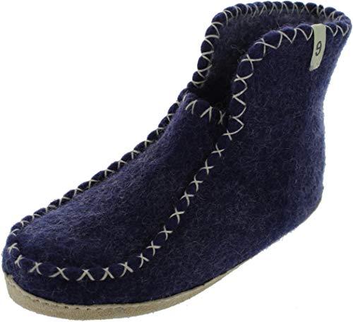 egos Boot Comfy, Damen Hausschuhe Blau blau, Blau - blau - Größe: 38