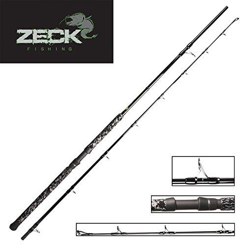 Zeck Buddy 2,90m Wallerrute, Welsrute, Angelrute zum Welsangeln, Rute zum Wallerangeln, Rute für Waller, Ruten für Wels