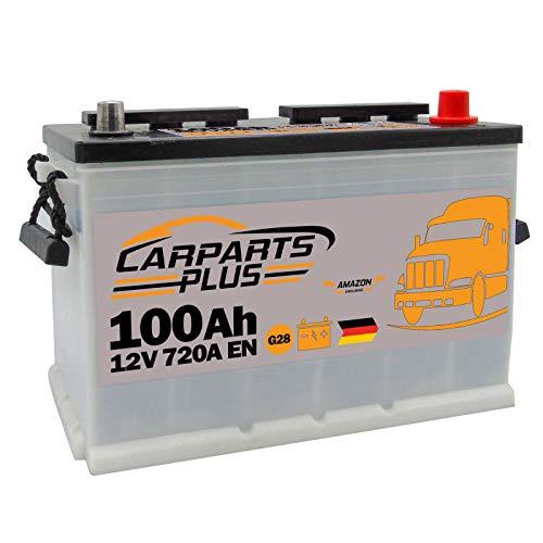 CARPARTS PLUS G28CARPARTS Batteria 100ah 720A 12V Polo DX