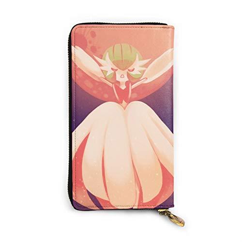 Gardevoir - Cartera de piel con cremallera para muñeca con múltiples tarjetas para teléfono móvil, tarjeta de crédito, moneda, bolsa de almacenamiento para hombres y mujeres