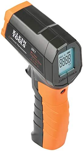 Klein Tools IR1 Infrared Thermometer Digital Laser Gun is Non Contact Thermometer with a Temperature product image