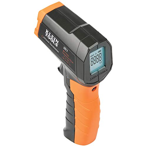 Klein Tools IR1 Infrared Thermometer, Digital Laser Gun is Non-Contact Thermometer with a Temperature Range -4 to 752-Degree Fahrenheit