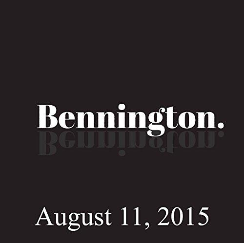 Bennington, Doug Benson, August 11, 2015 audiobook cover art