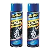 TYRE GRIP [ タイヤグリップ ] スプレー式タイヤチェーン [ ノーマルタイヤが雪用タイヤに変身! ] 北欧ノルウェーで開発した品を USAで高性能な商品に改良! [ 備え有れば憂い無し ] 冬の必需品アイテム[ TYRE GRIP ] BGTG-1[HTRC2.1] 2個セット