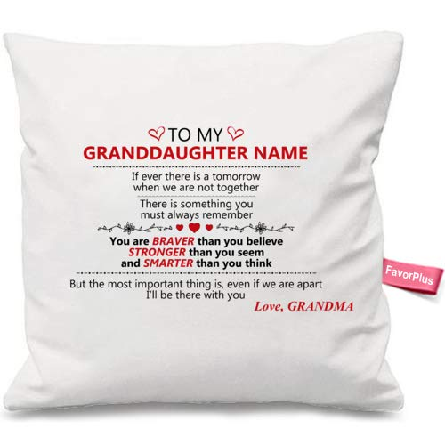 Pillow Cover Love  Love with Name