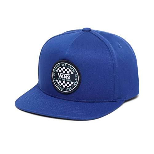 Vans jongens Og Checker Snapback Boys muts, blauw (Sodalite Blue Rgj), One Size (Manufacturer Maat: OS)
