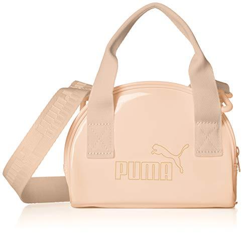 PUMA Damen Handtasche Core Up Mini Bag 078216 Shifting Sand One Size