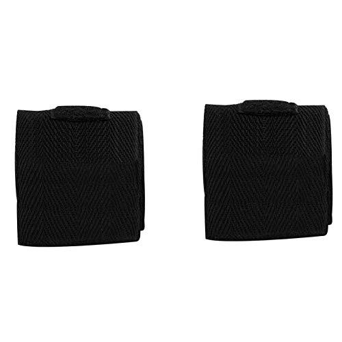Shipenophy Elastische gepolsterte Bandagen unter Handschuhen Elastische Handwickel Handwickel für Kinder Kinderspielzeug Geschenk für Indoor-Fitness(Black)