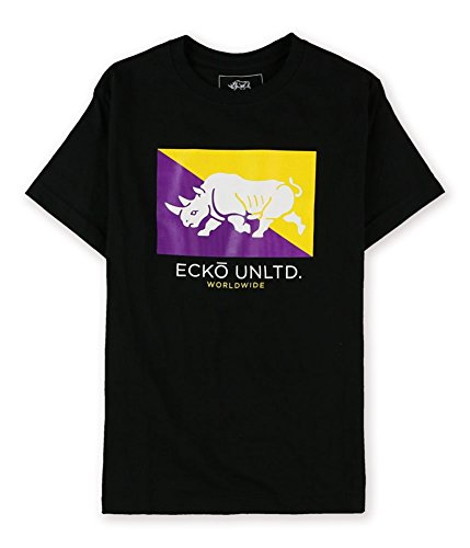 Ecko Unltd. Mens Core Flag Rhino Graphic T-Shirt bklme XL