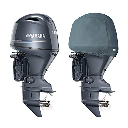 Oceansouth Custom Fit Storage Covers for Yamaha in-LINE 4 CYLINDER1.8L Outboards F115, F130A
