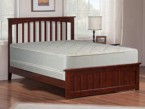 mayton 9-Inch Gentle Firm Tight top Innerspring Mattress And 8-Inch Wood Box Spring/Foundation Set Full