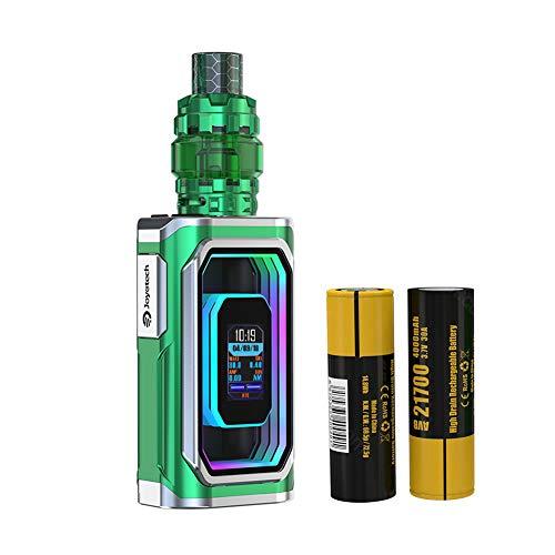 Joyetech E Zigarette Starter Set Joyetech Espion Infinite 230W mit ProCore Conquer Verdampfer mit 2 X 4000mAh 21700 Batterie,Ohne Nikotin (Grün)