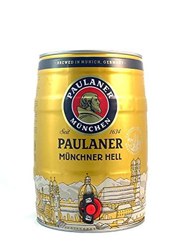 4 x Paulaner Münchner infierno 5 litros de caja partido vol 4,9%